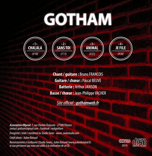 CD de gotham 4 titres